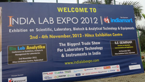 INDIA LAB EXPO 2012 - HYDERABAD